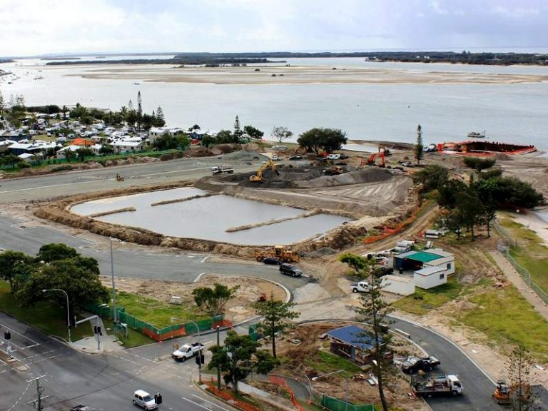 Broadwater Parklands Dredging and Reclamation Works