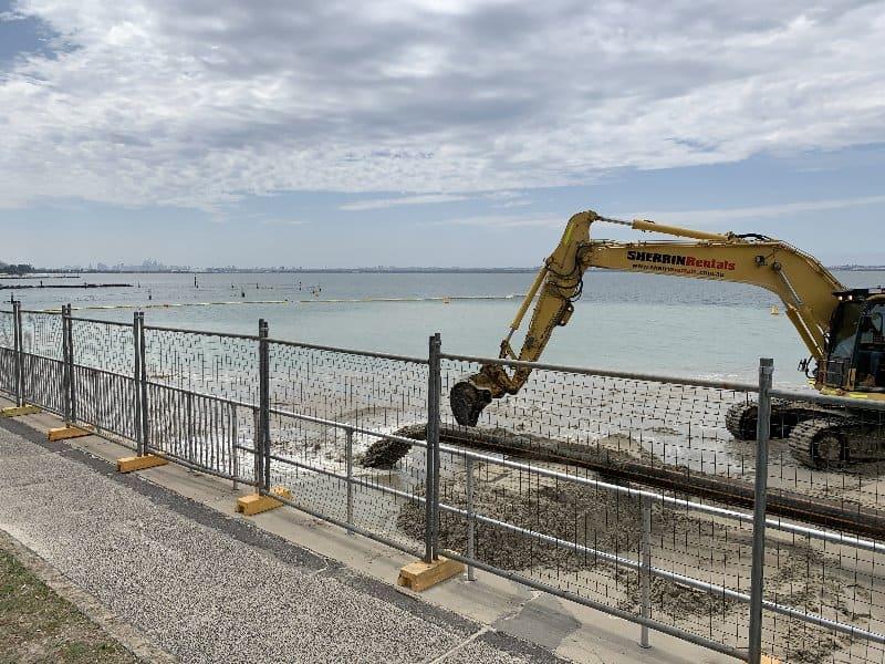 Ramsgate Baths Beach Nourishment