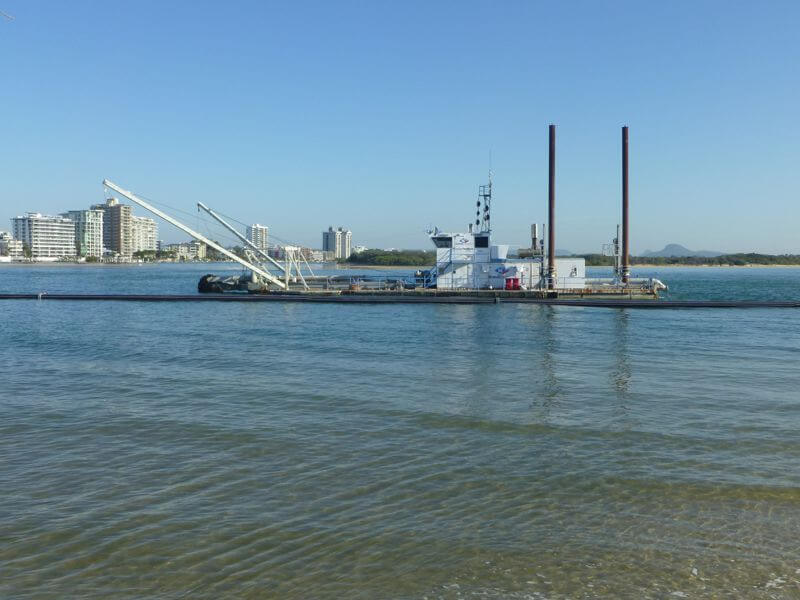 South Wavebreak Island Channel Maintenance Dredging - 6