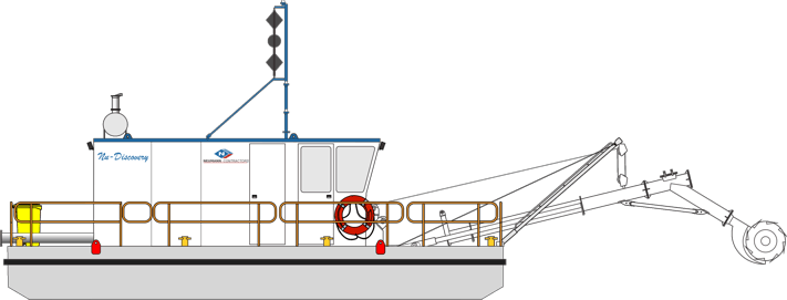 Dredge 12 - Nu Discovery Cutter Suction Dredge