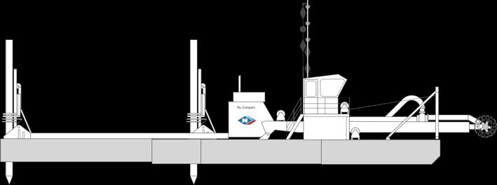 Dredge 8 - Nu Compact Cutter Suction Dredge