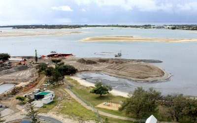 Broadwater Parklands - Dredging & Reclamation